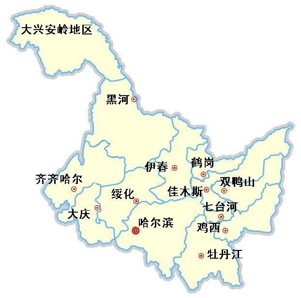 绥棱地图高清版